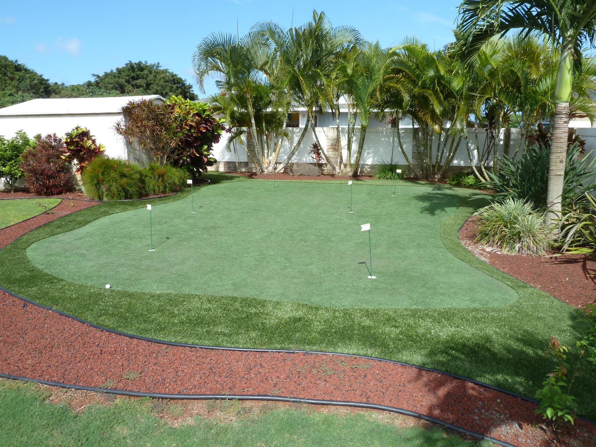 Kauai Backyard Artificial Putting Green | Southwest Greens ...