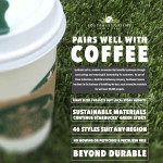 Southwest Greens sellsheet for Starbucks